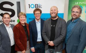 1QBit ouvre un bureau à Sherbrooke en partenariat avec l'UdeS